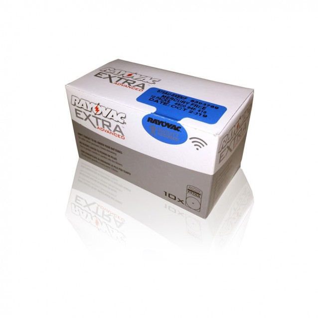 60 Pilas Rayovac Azul tipo 675 (10 packs)