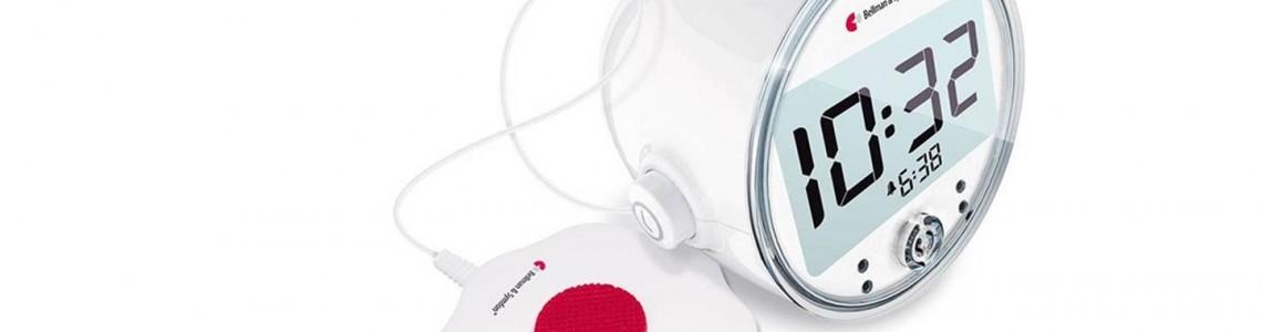 ¿Cómo funcionan los despertadores para sordos?