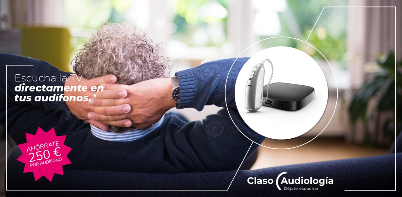 Escucha tu tv en tus audífonos